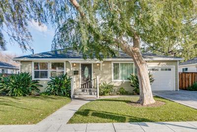 Sunnyvale Single Family Home For Sale: 1312 Selo Drive