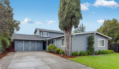 Campbell Single Family Home Pending Show For Backups: 735 Buddlawn Way