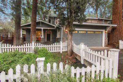 Los Gatos Single Family Home For Sale: 23 Jackson Street