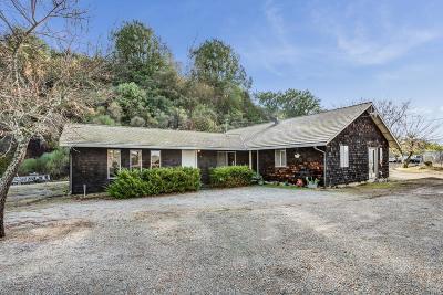 Los Gatos Single Family Home For Sale: 17535 Soda Springs Road