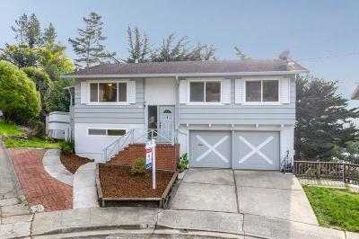 San Mateo County Single Family Home For Sale: 3 Malavear Court