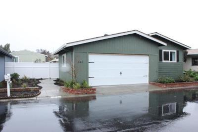 San Jose Mobile Home For Sale: 446 Chateau La Salle Drive