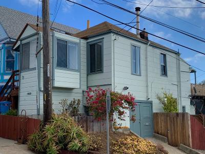 San Francisco Single Family Home For Sale: 75 Montcalm Street