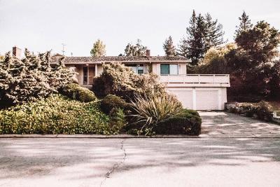 San Mateo County, Santa Clara County Rental For Rent: 1216 Via Huerta