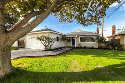 Santa Clara Single Family Home For Sale: 3433 Fowler Avenue