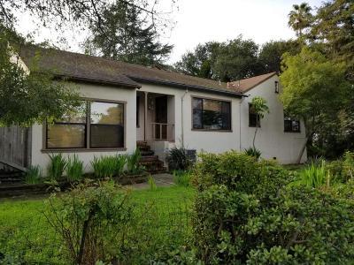 San Mateo County Single Family Home For Sale: 1717 Pine Knoll Drive