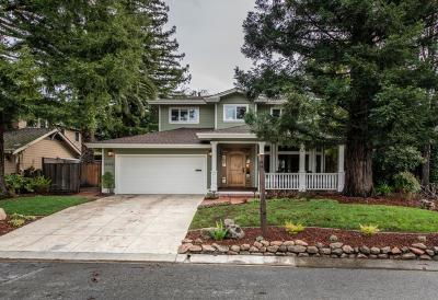 Los Gatos Single Family Home For Sale: 16416 Shady View Lane