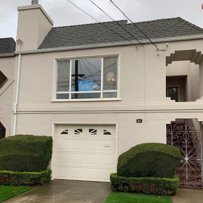 San Mateo County Single Family Home For Sale: 337 1st Avenue