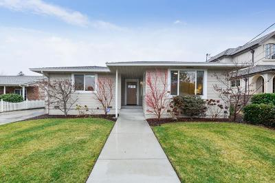 San Mateo County Single Family Home For Sale: 1750 Chestnut Street