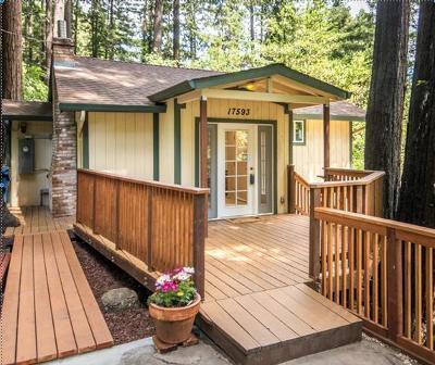 Los Gatos Single Family Home For Sale: 17593 Comanche Trail