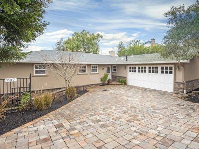 San Mateo County Single Family Home For Sale: 707 Temescal Way