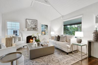 Burlingame Single Family Home Pending Show For Backups: 450 Marin Drive