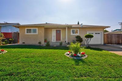 Milpitas Single Family Home For Sale: 176 Mazey Street