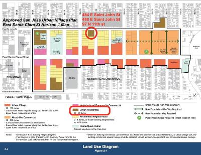 San Jose Residential Lots & Land For Sale: 97 N 11th Street
