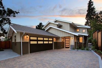 Santa Cruz Single Family Home Pending Show For Backups: 127 Prospect Court