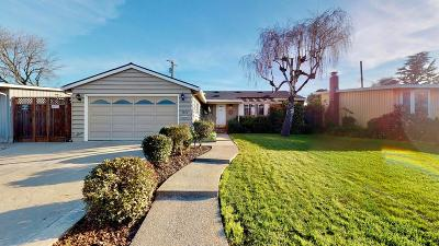 Santa Clara Single Family Home For Sale: 2476 Armstrong Place