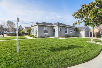 Burlingame Single Family Home For Sale: 1100 Rosedale Avenue