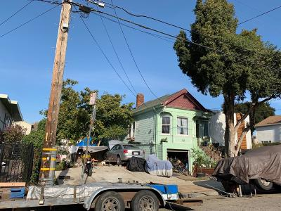 Oakland Single Family Home Pending Show For Backups: 960 45th St