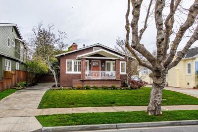 Burlingame Single Family Home Pending Show For Backups: 1304 Mills Avenue