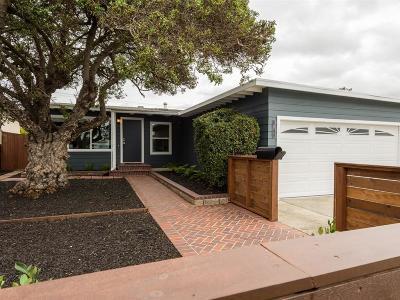 San Mateo Single Family Home Pending Show For Backups: 1811 Kehoe Avenue
