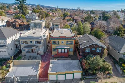 Oakland Multi Family Home For Sale: 4278 Terrace Street