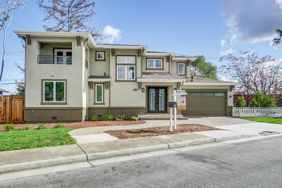 Cupertino Single Family Home Pending Show For Backups: 10088 Empire Avenue