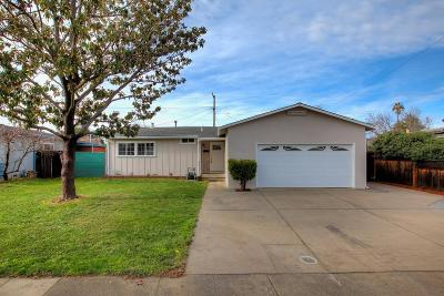 San Jose Single Family Home For Sale: 3783 Arbuckle Drive