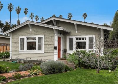 San Jose Single Family Home For Sale: 867 Hartford Avenue