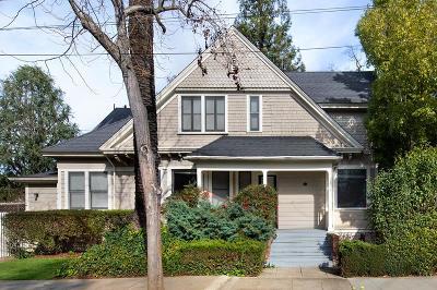 Palo Alto Multi Family Home For Sale: 1251 Bryant Street