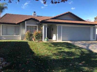 Tracy Single Family Home For Sale: 1841 Scotch Pine Court