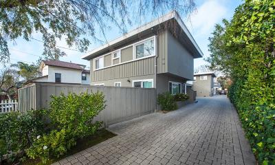 San Mateo Multi Family Home For Sale: 40 Hobart Avenue