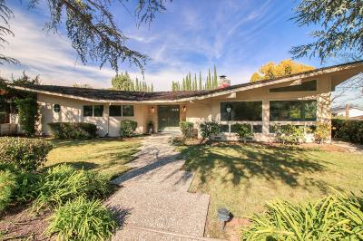 Los Gatos Single Family Home For Sale: 164 Westhill Drive