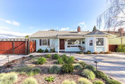 Santa Clara Single Family Home Pending Show For Backups: 601 Enright Avenue