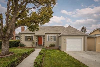 San Mateo Single Family Home For Sale: 217 Santa Clara Way