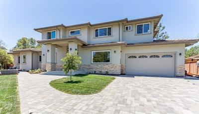 Cupertino Single Family Home For Sale: 21912-08 Gardenview Lane