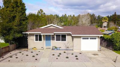 Santa Cruz Single Family Home Pending Show For Backups: 225 Chilverton Street