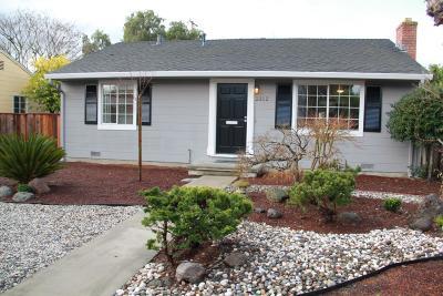 Palo Alto Single Family Home For Sale: 2312 Santa Ana Street