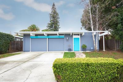 Palo Alto Single Family Home For Sale: 3056 Greer Road