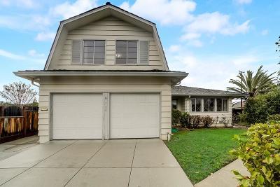 Santa Clara Single Family Home Pending Show For Backups: 710 Baylor Drive