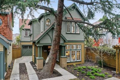 Palo Alto Single Family Home For Sale: 4125 Wisteria Lane