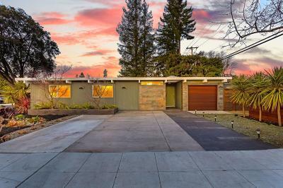 Palo Alto Single Family Home For Sale: 4101 Mackay Drive