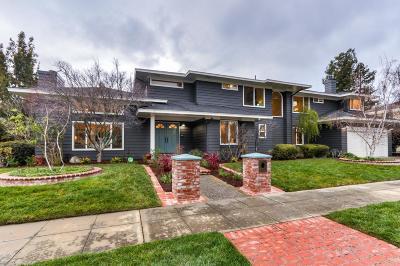 Mountain View Single Family Home For Sale: 2161 Garden Terrace