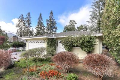 Los Gatos Single Family Home For Sale: 16975 Cypress Way