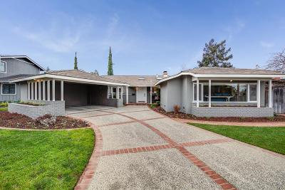 Los Gatos Single Family Home For Sale: 16171 Azalea Way