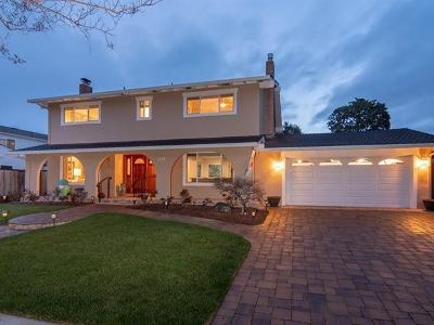Los Gatos Single Family Home Pending Show For Backups: 107 Calfhill Court