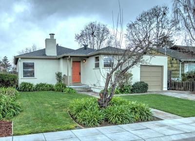 San Mateo Single Family Home For Sale: 27 N Rochester Street
