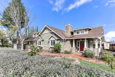 Los Gatos Single Family Home For Sale: 16717 Chirco Drive