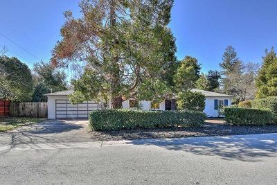 Palo Alto Single Family Home For Sale: 4018 Arbol Drive