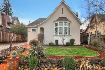 San Mateo Single Family Home For Sale: 1220 Rhus Street