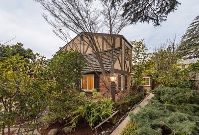 Palo Alto Single Family Home For Sale: 285 Rinconada Avenue